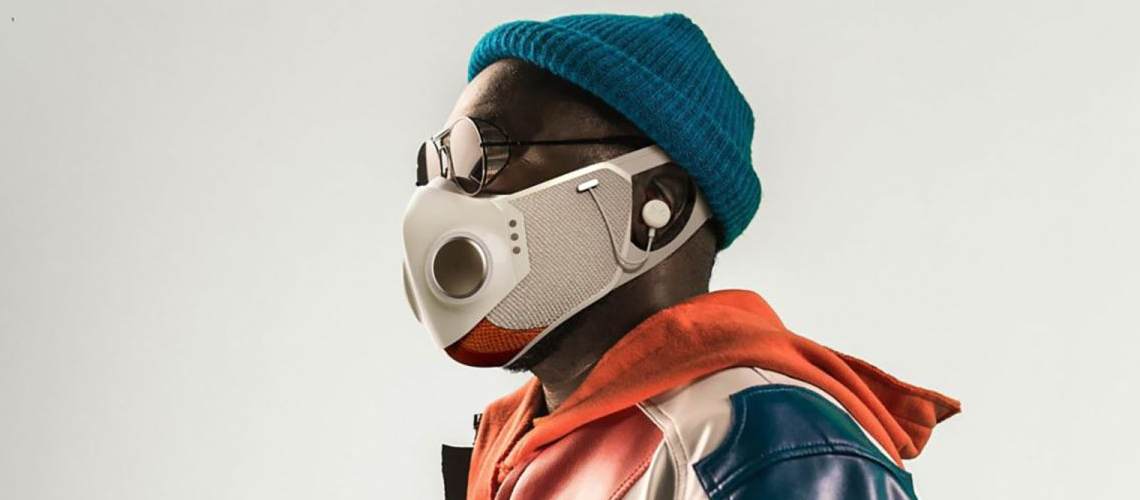 Will.i.am Anuncia Máscara Facial com Microfone e Auscultadores