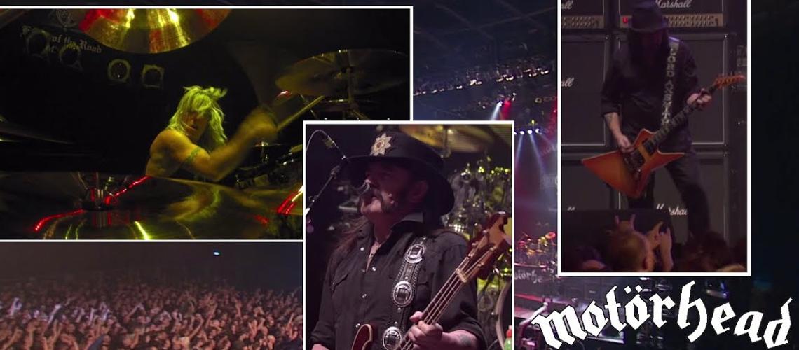 """Motörhead Partilham Mais um Tema de """"Louder Than Noise… Live in Berlin"""""""