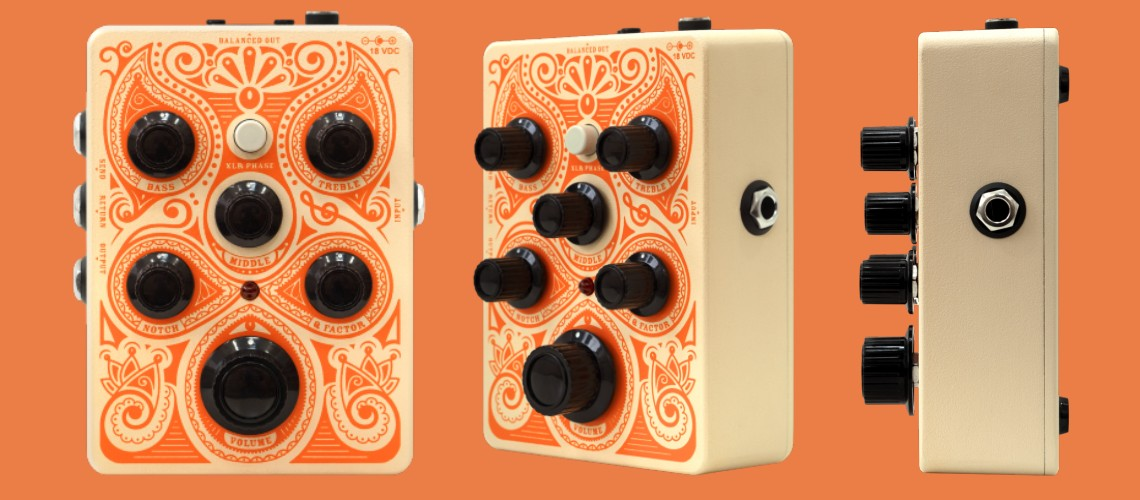 Orange Amplification: Orange Acoustic Pedal (PreAmp)