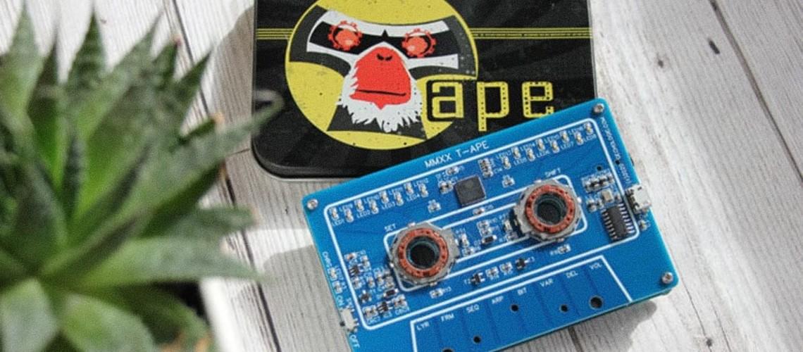 MMXX T-APE: Parece Uma Cassete, É Um Sintetizador