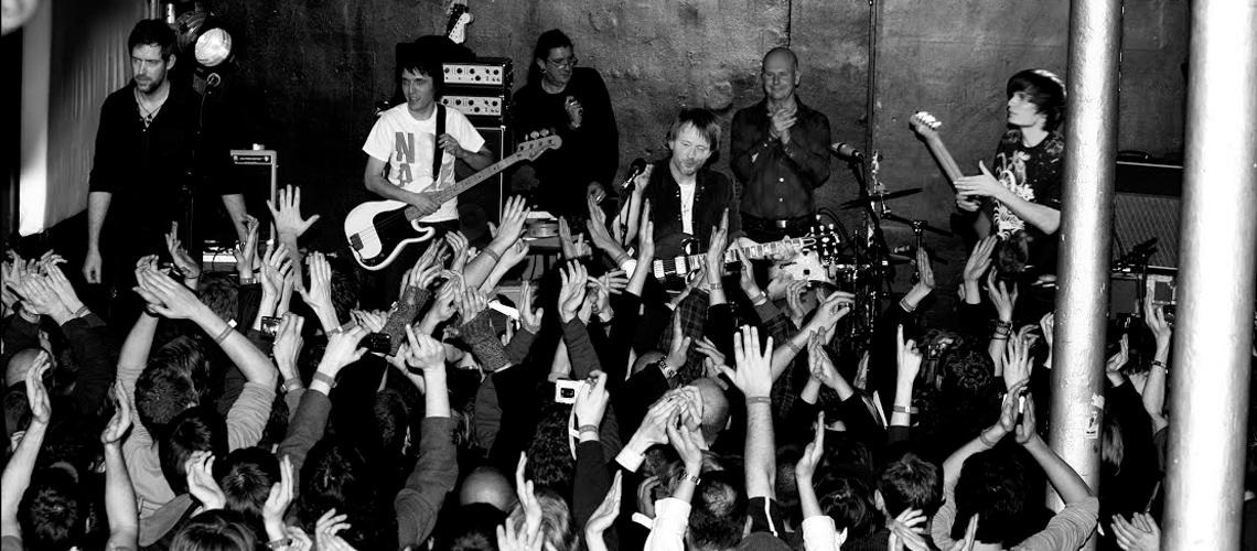 """Radiohead Vão Transmitir Concerto de Apresentação de """"In Rainbows"""" de 2008"""