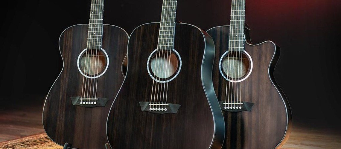 Washburn Guitars, Deep Forest Ebony Collection