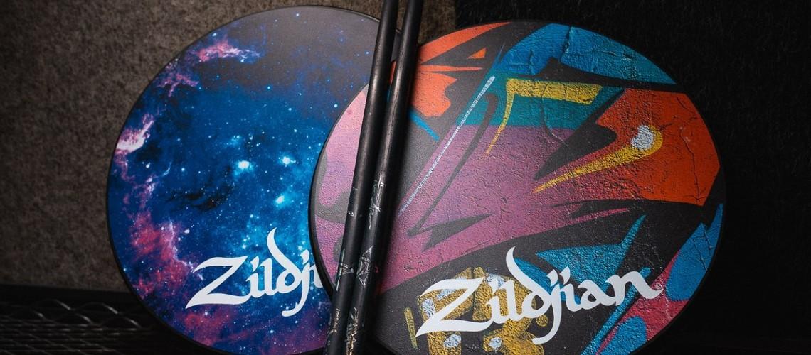 Galaxy & Graffiti, Pads de Treino da Zildjian