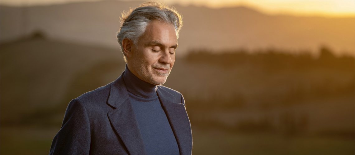 Concerto de Andrea Bocelli em Coimbra em Junho de 2021 Dividido em Duas Datas