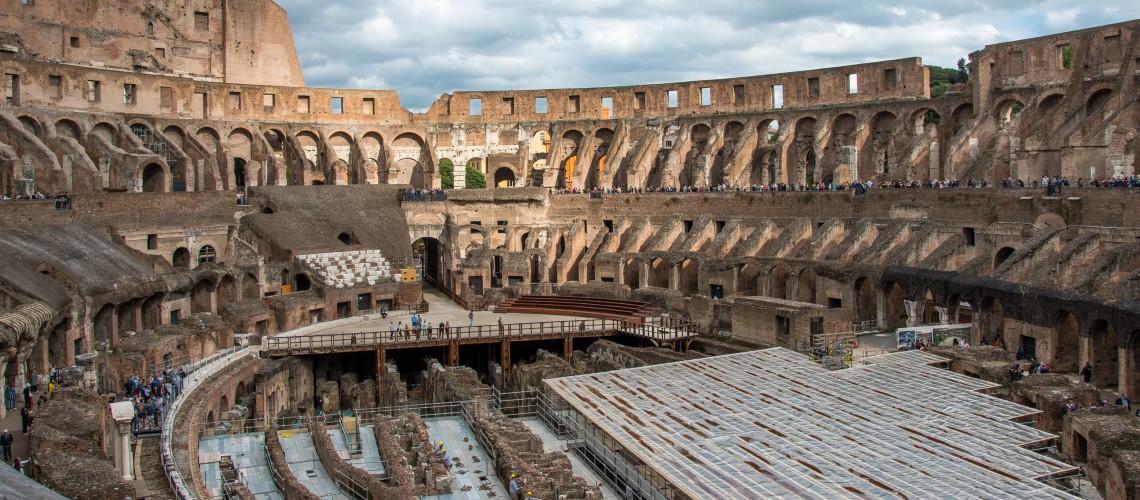Coliseu de Roma Vai Ter Palco Retráctil Para Receber Eventos Culturais