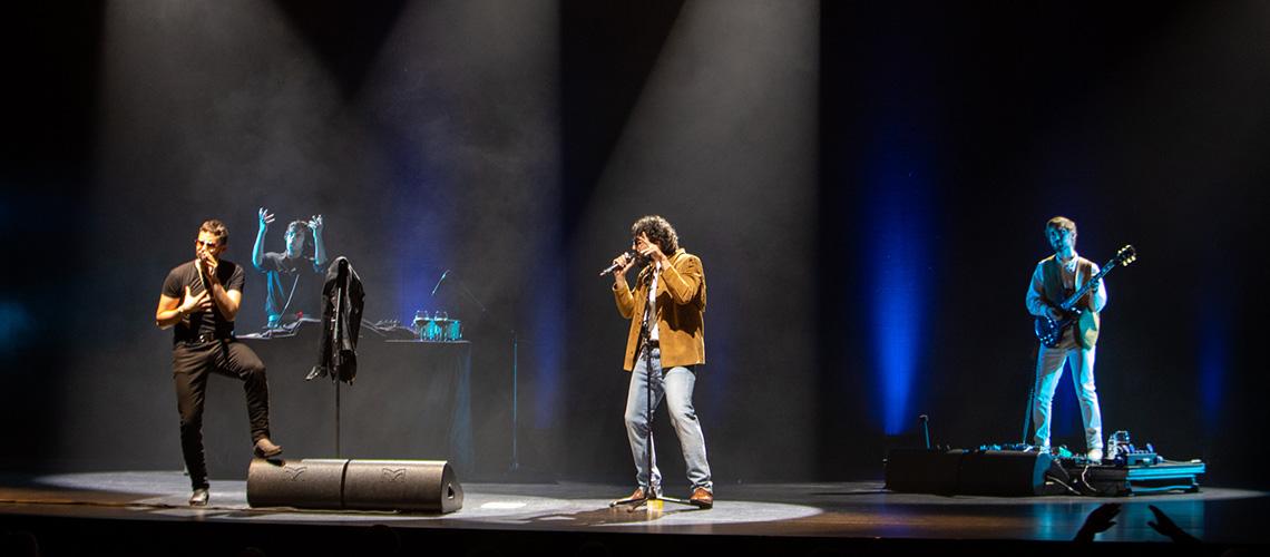 Fotoreportagem: David & Miguel @ Teatro Tivoli BBVA, Lisboa [2021]
