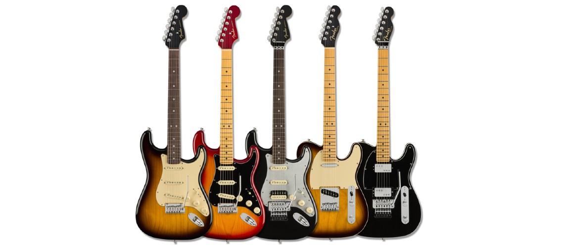 American Ultra Luxe, A Gama Mais Avançada de Sempre da Fender