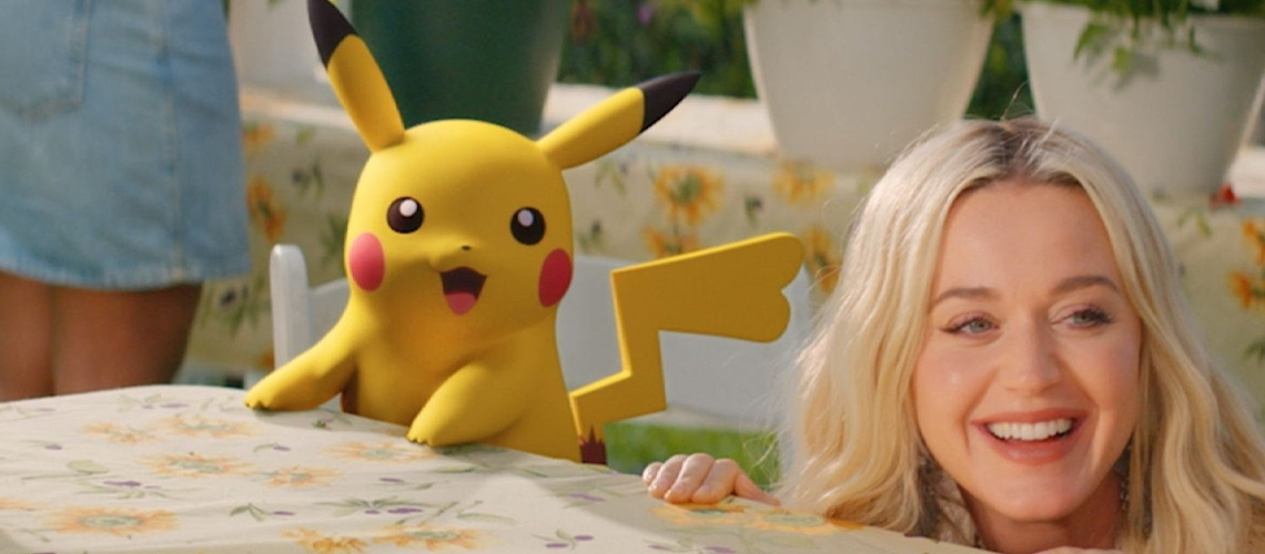 """Pokémon & Katy Perry em """"Electric"""""""