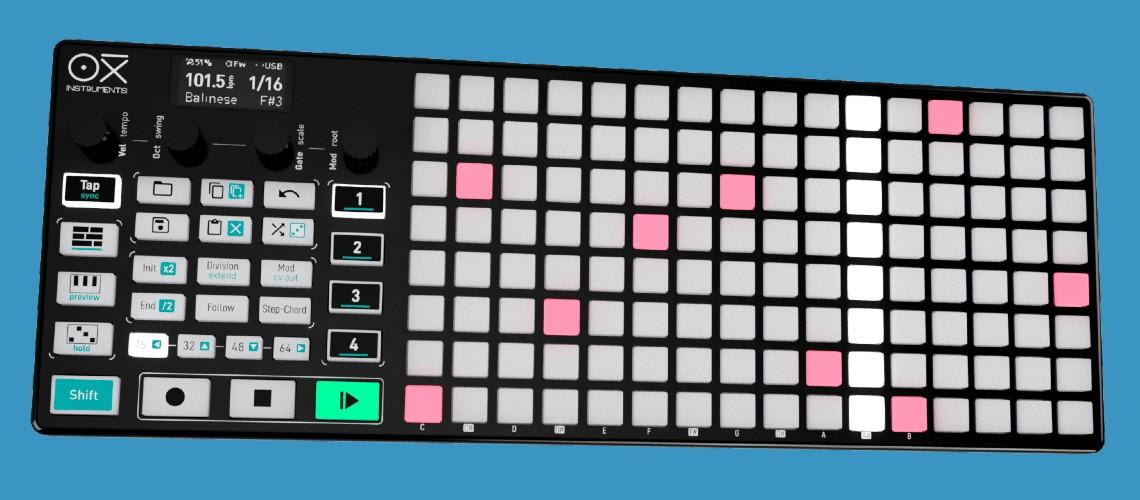 Oxi One, Novo Sequenciador e Controlador MIDI
