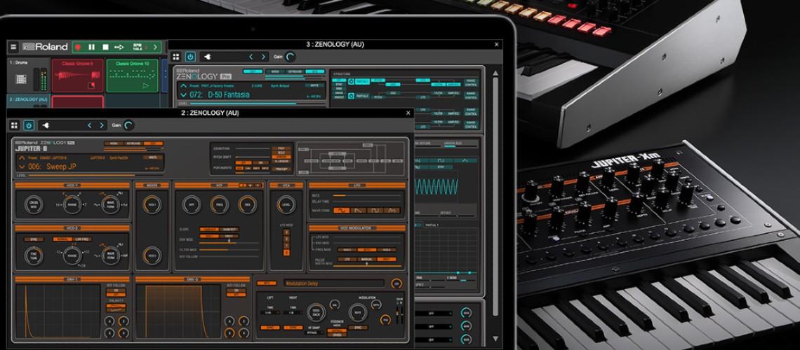 Editor Gratuito Para Sintetizadores Roland Jupiter-X e Xm