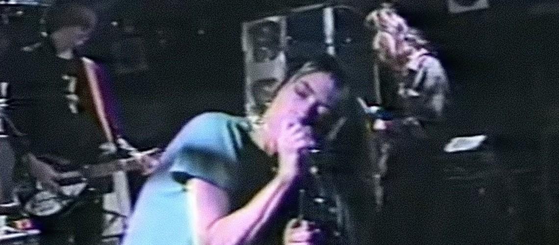 Imagens Raras dos Sonic Youth com J Mascis [Dinosaur Jr.] no Rat em 1987