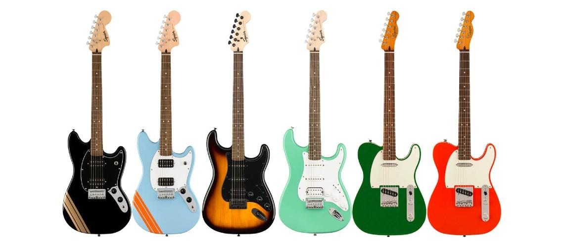 Squier Novo Trio de Guitarras Fender Special Run