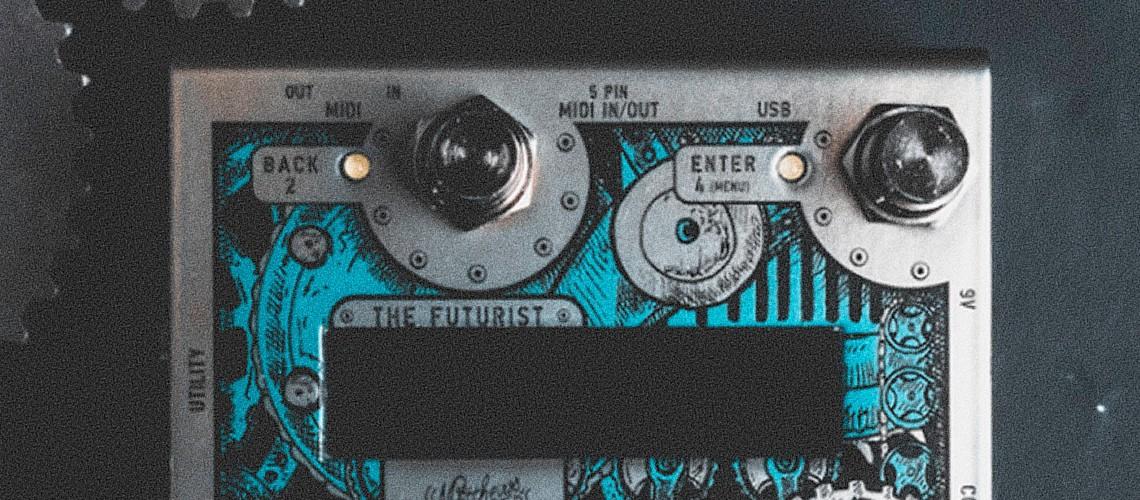 Matthews Effects, The Futurist Traz Controlo MIDI Para a Pedalboard