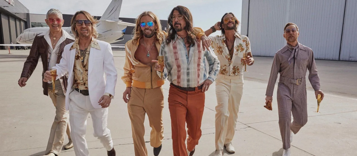 Foo Fighters Lançam Álbum de Disco Sound Sob o Nome Dee Gees