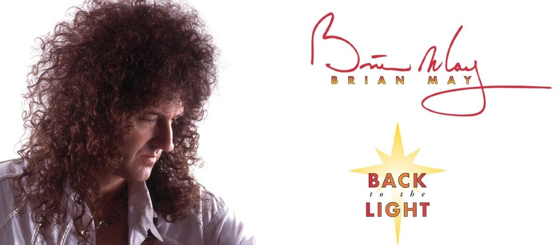 "Brian May Reedita Primeiro Álbum a Solo, ""Back to the Light"""