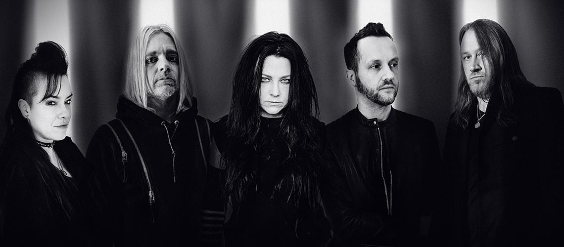 Concerto dos Evanescence em Portugal Reagendado para 2022