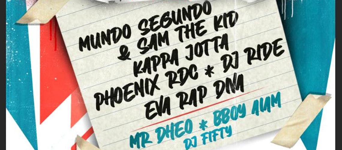 Jump Around, o Maior Evento do Hip Hop Português no Porto [ADIADO]