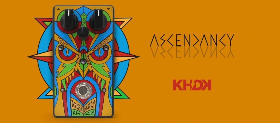 KHDK Ascendancy, o Pedal Distorção de Assinatura dos Trivium