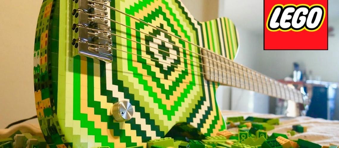 Baixo com 2000 Peças LEGO
