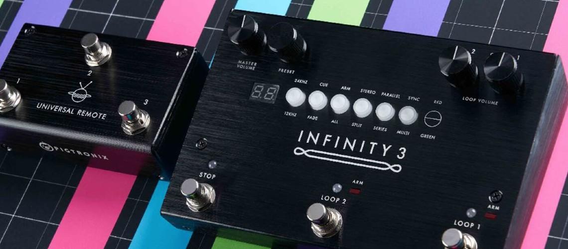 Pigtronix, O Novo Looper Infinity 3 e o Controlador Universal Remote