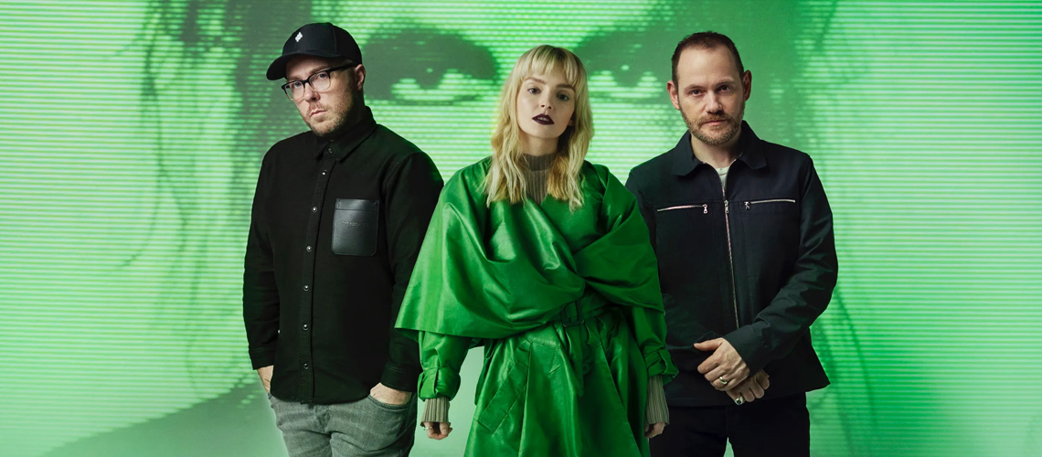 """Chvrches & Robert Smith em novo single, """"How Not To Drown"""""""