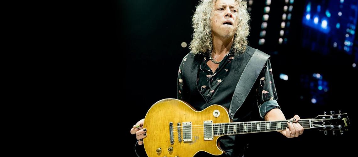 Kirk Hammett Junta-se à Gibson