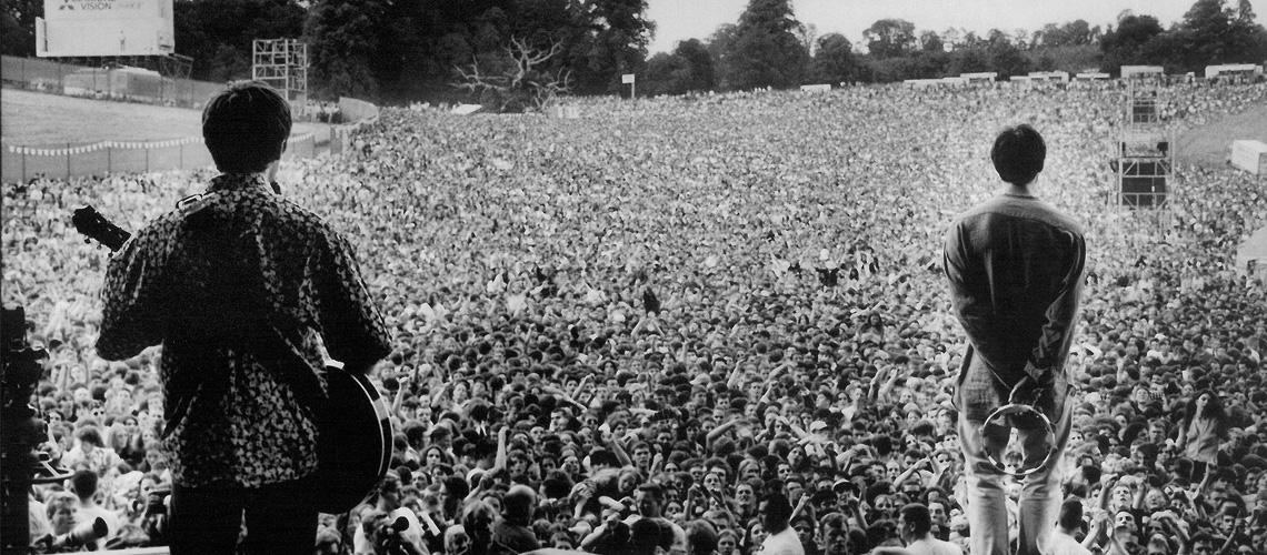 "Oasis Anunciam Documentário ""Oasis Knebworth 1996"""