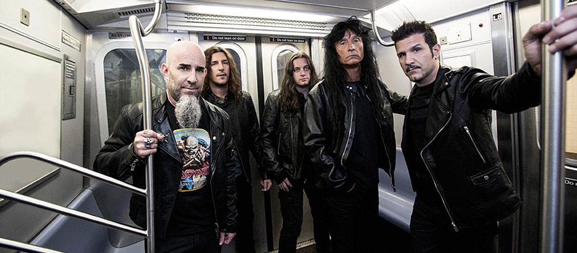 """""""The Devil You Know"""" pelos Anthrax no Concerto dos 40 Anos"""