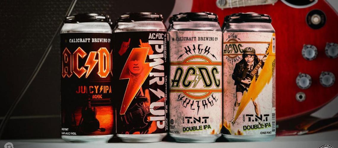 AC/DC Anunciam Nova Cerveja com 6,66% de Volume Alcoólico