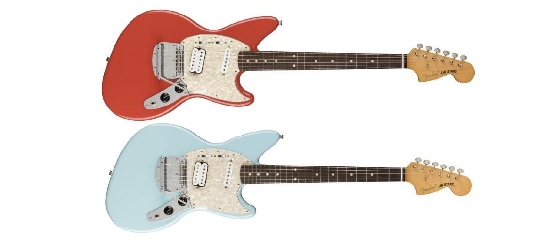 O Aguardado Regresso da Fender Jag-Stang de Kurt Cobain