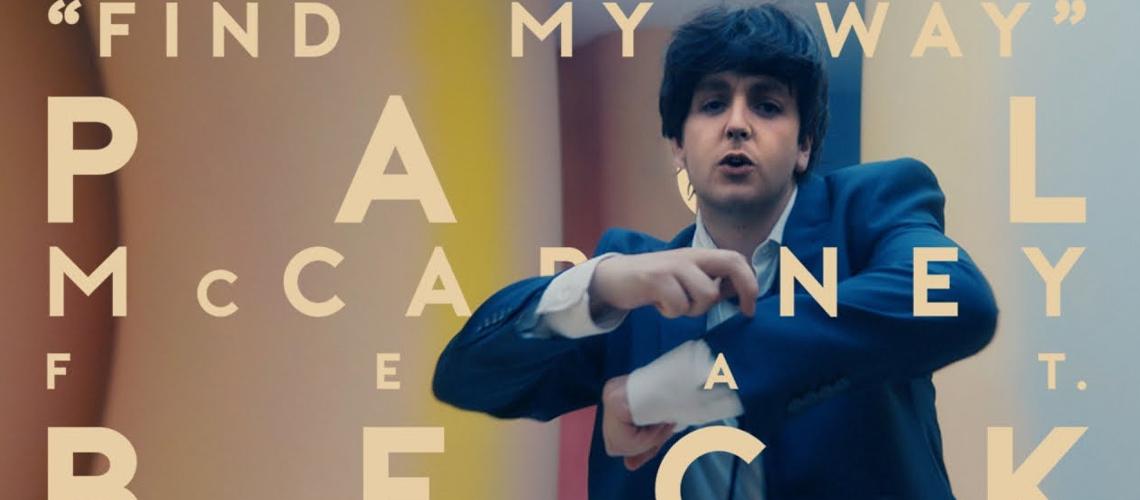 Paul McCartney Muito Mais Jovem em Novo Vídeo Manipulado Digitalmente