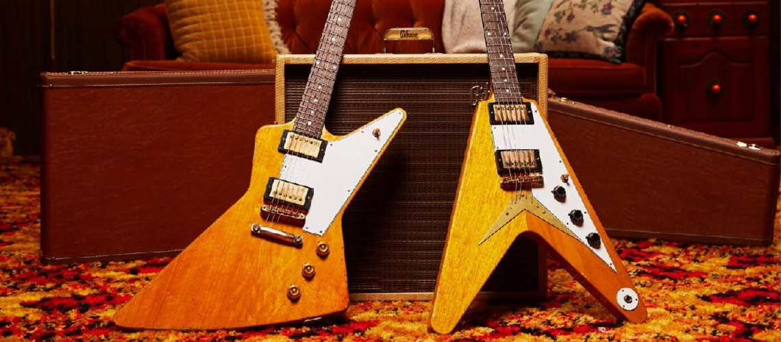 Gibson Collector's Edition 1958 Flying V & Explorer