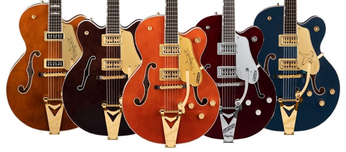 SUMMER NAMM 2021: Gretsch Guitars Expande a Gama Players Edition