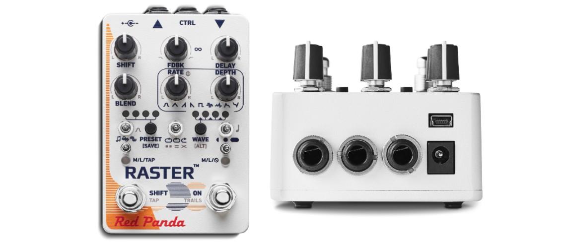 Red Panda Raster 2, O Digital Delay Melhorado e com MIDI