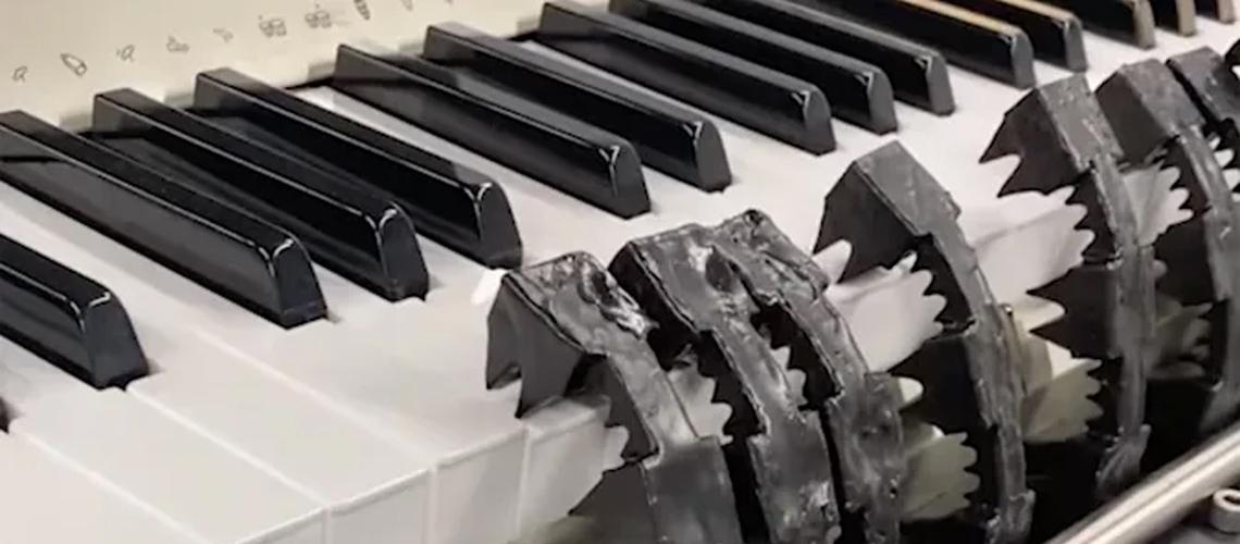 E agora, um Robô que Toca Piano!