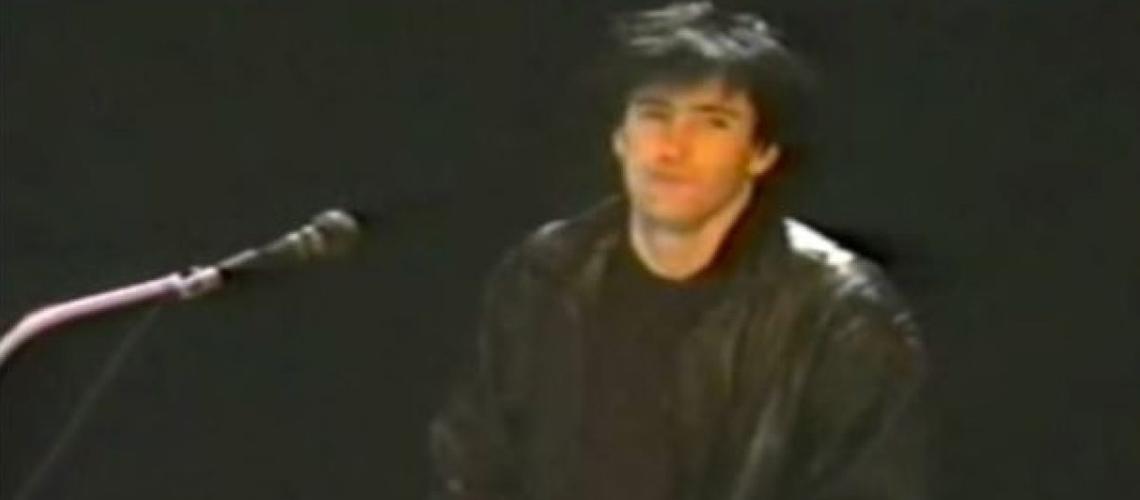 Trent Reznor Numa Banda Cheesy nos Anos 1980? Sim!