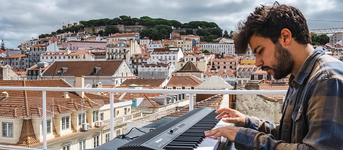 Roland: GO:PIANO, Neev & Lisboa [Vídeo]