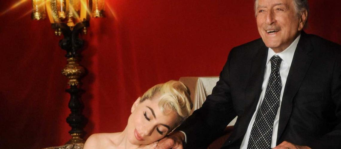 """Tony Bennett e Lady Gaga Anunciam Novo Álbum em Conjunto, """"Love For Sale"""""""