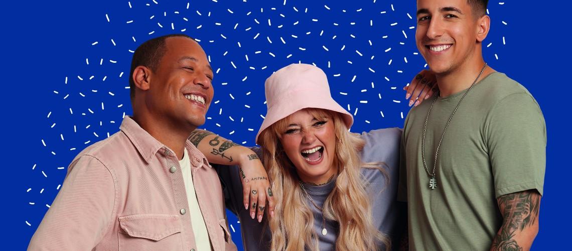 Carolina Deslandes, Fernando Daniel e Carlão Lançam Canção Anti-Bullying