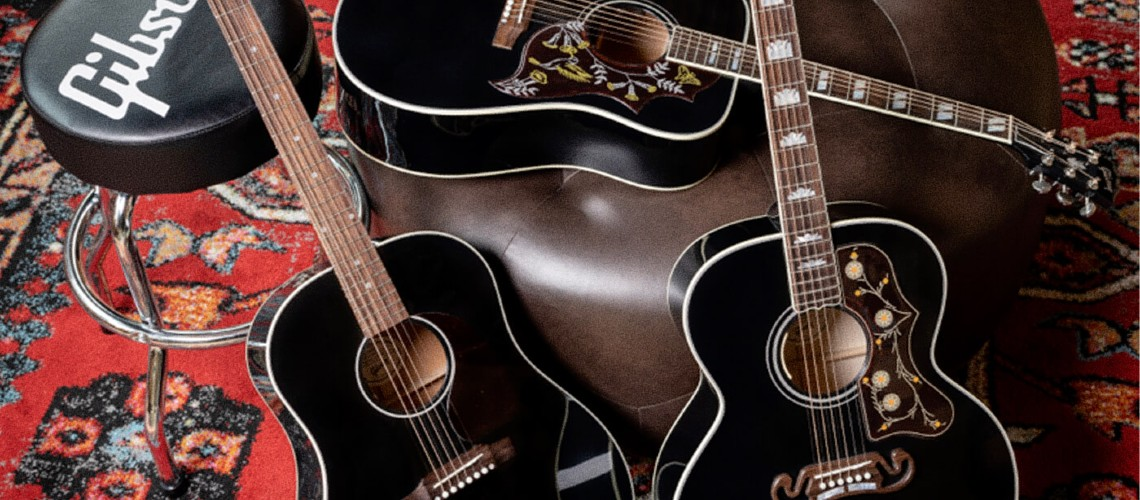 Gibson Aumenta Gama Exclusives Collection