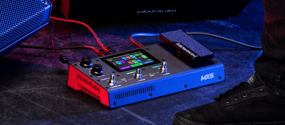 HeadRush FX, Novo Multiefeitos MX5