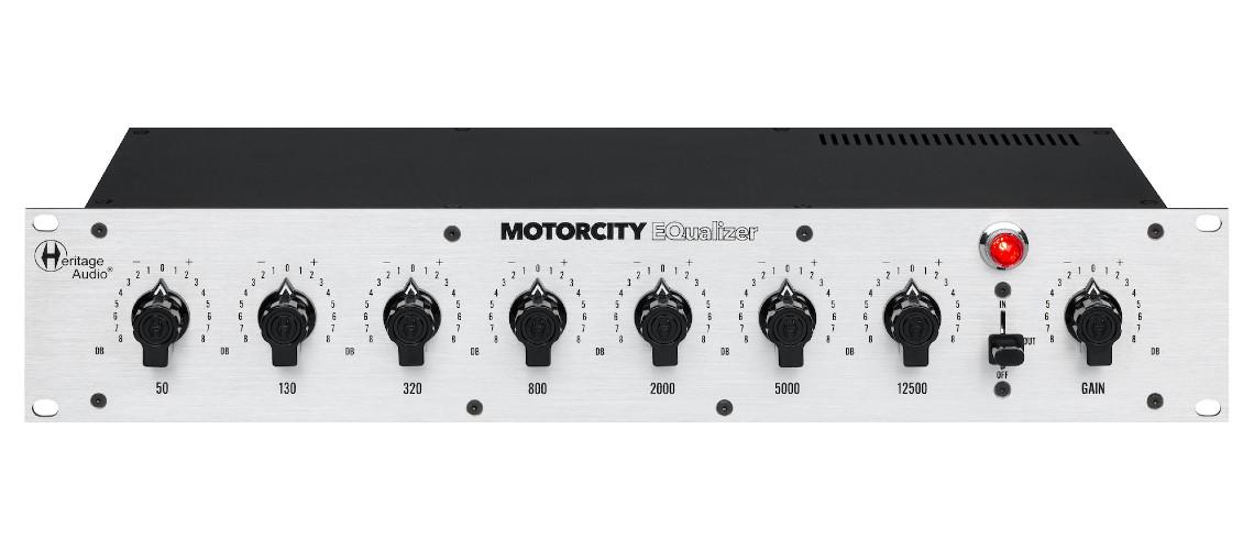 Heritage Audio em Busca do Som da Motown com o Motorcity EQualizer