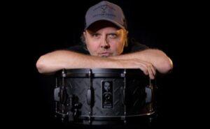 tama black album snare drum