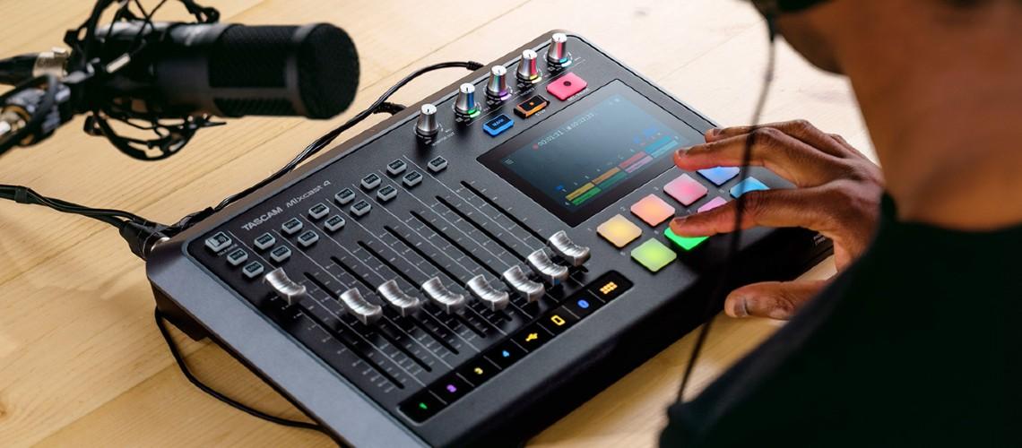 Tascam Mixcast 4, Podcast Studio