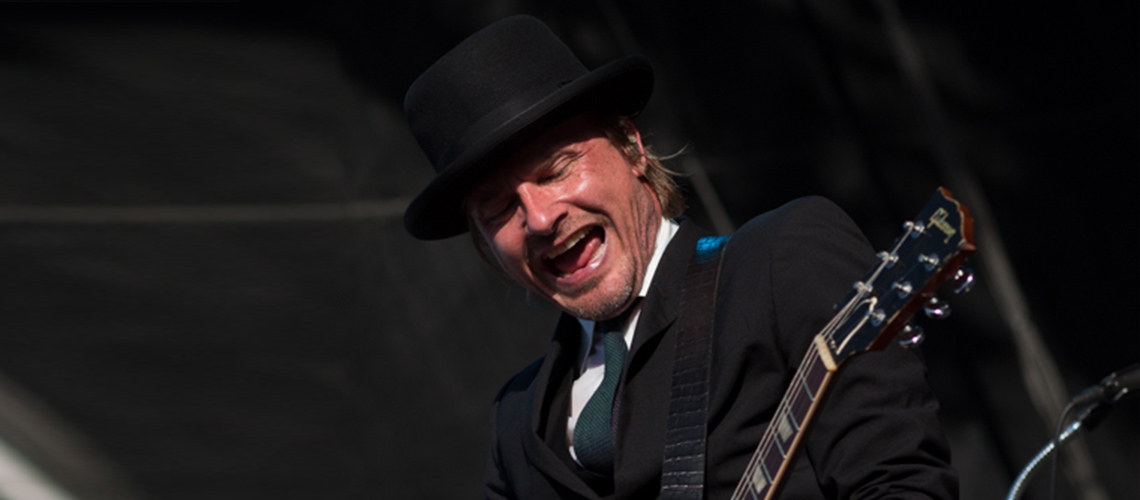 ENTREVISTA | Nalle Colt, Uma Les Paul VOS e Pickups Alemães no Som dos Vintage Trouble