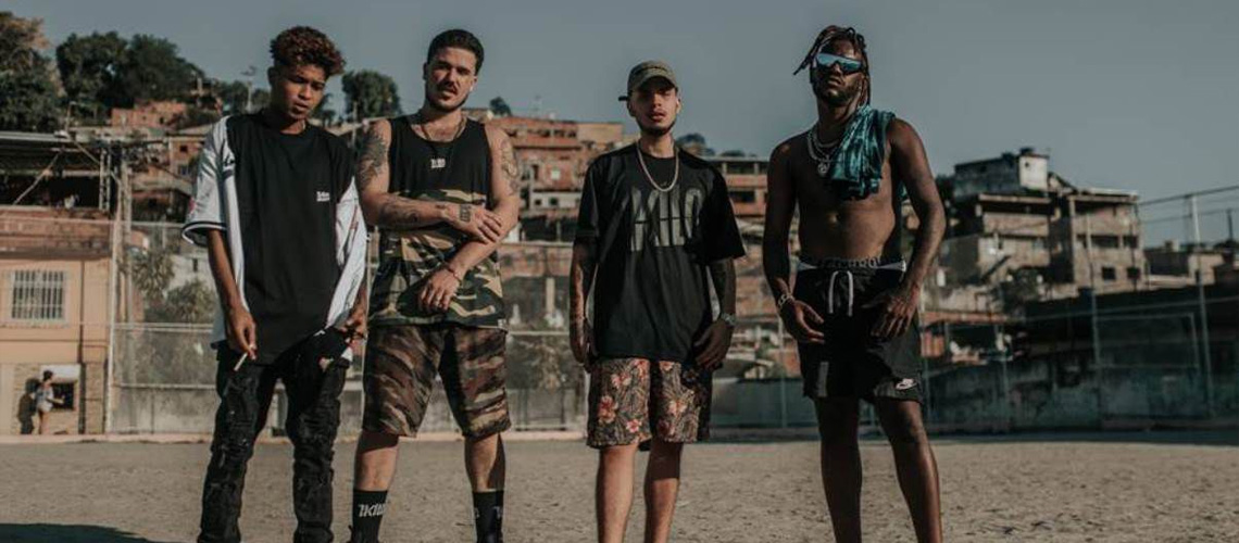 Colectivo de Rappers 1Kilo Ao Vivo em Lisboa