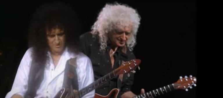 """Brian May Viaja ao Passado em Vídeo Para """"Back To The Light"""""""
