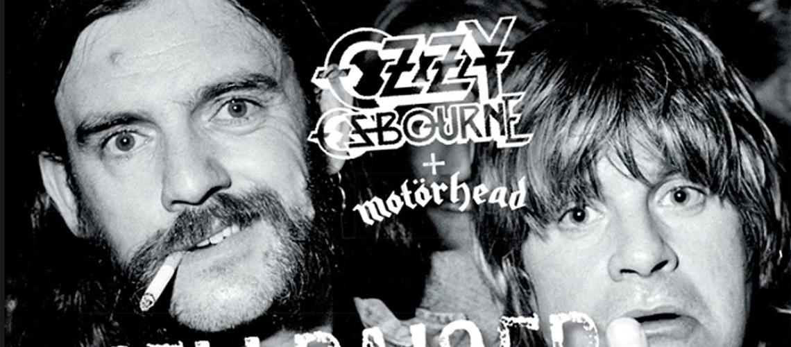 """Ozzy Osbourne e Lemmy em Versão Inédita de """"Hellraiser"""""""