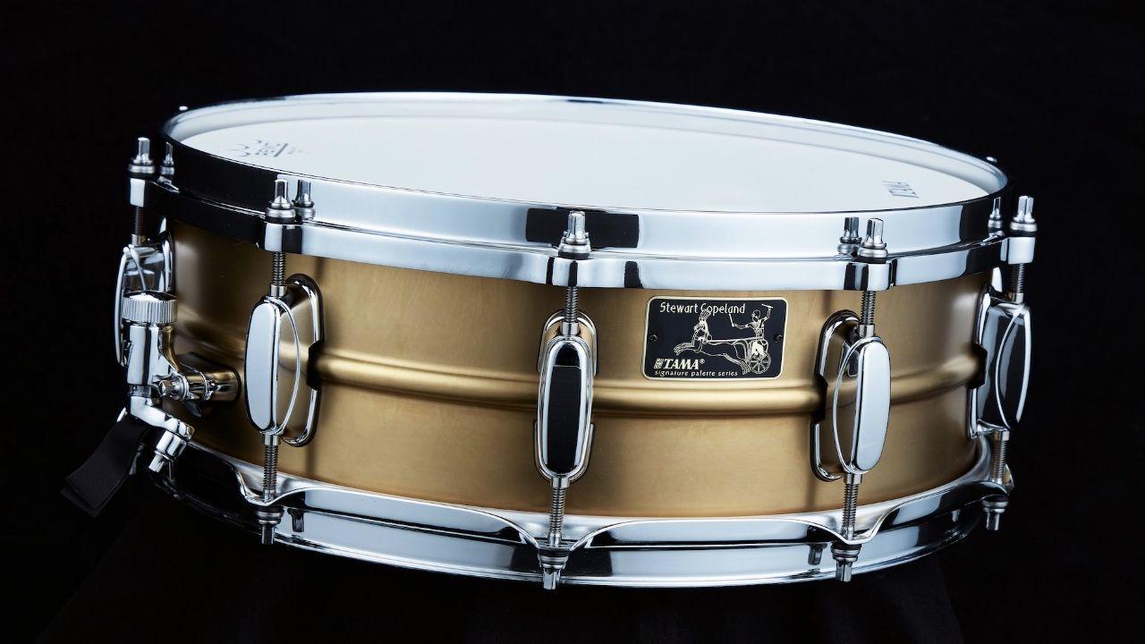 Tama Anuncia Stewart Copeland 40th Anniversary Signature Snare