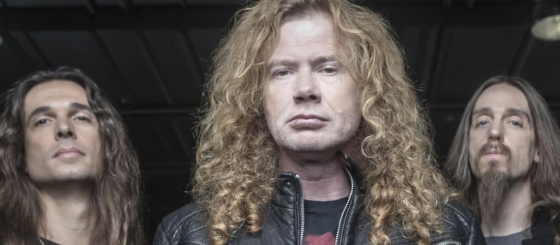 Visita Guiada aos Ensaios dos Megadeth [Vídeo]